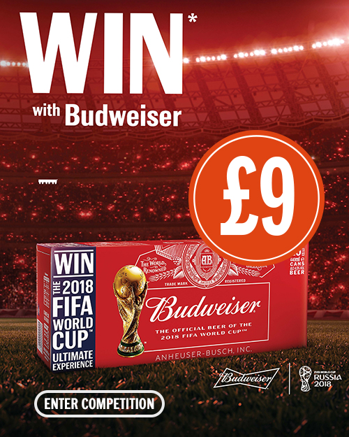 Win with Budweiser