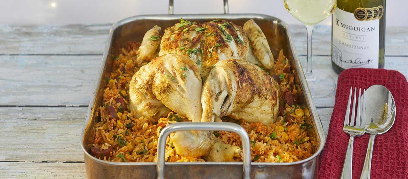 Cumin Roasted Chicken Banner
