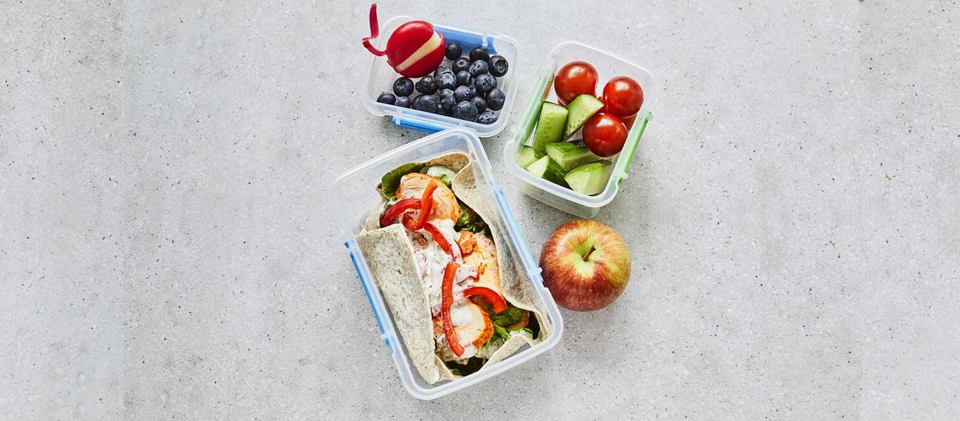 Quick Lunch Box Meals