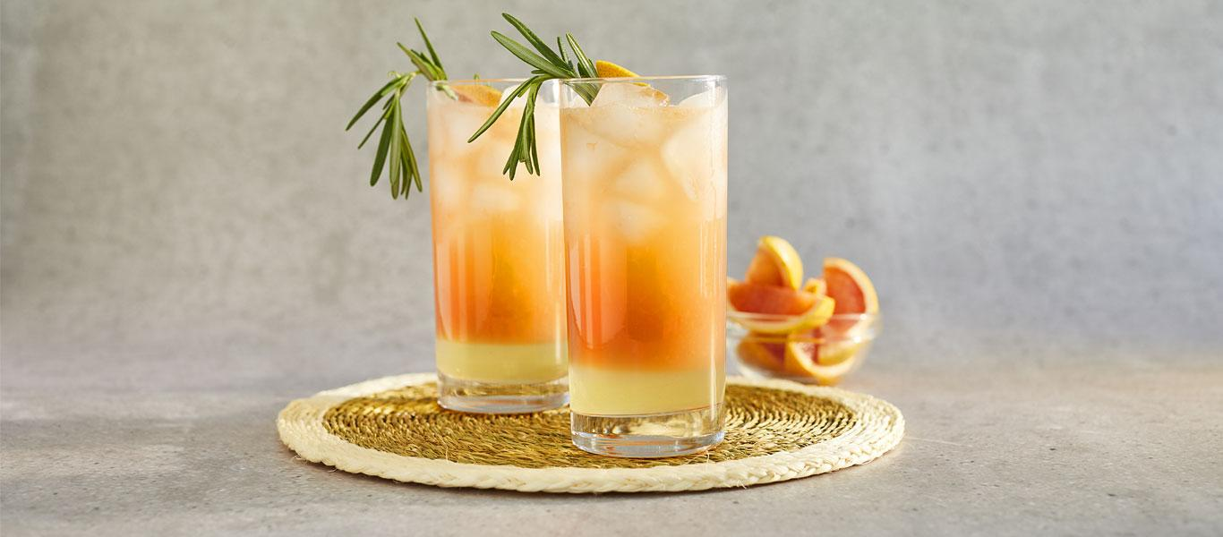 Grapefruit and Rosemary Cocktails Recipe