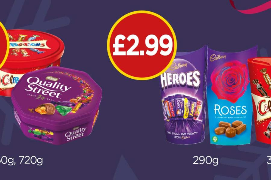Chocolate Selection Offers
