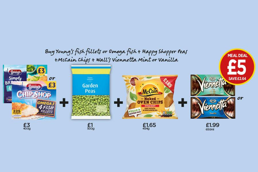 NP11-20 Frozen Meal Deal at Budgens