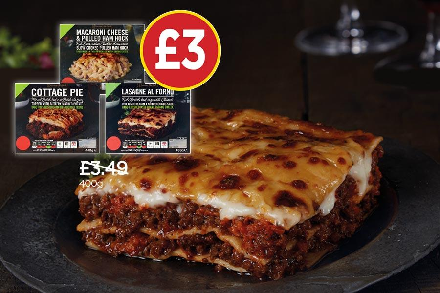 NP13 £3 DTT Ready Meals Offer