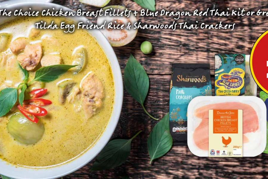 Thai Meal Deal - £6 at Budgens