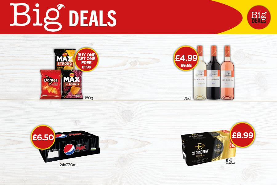 Big Deals at Budgens