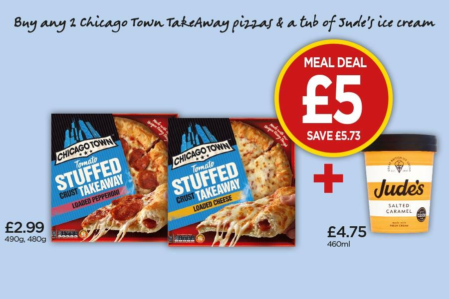 Frozen Meal Deal at Budgens