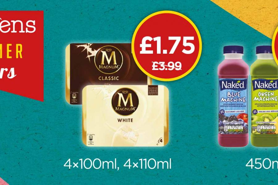 Summer Offers - Naked Machine & Magnum