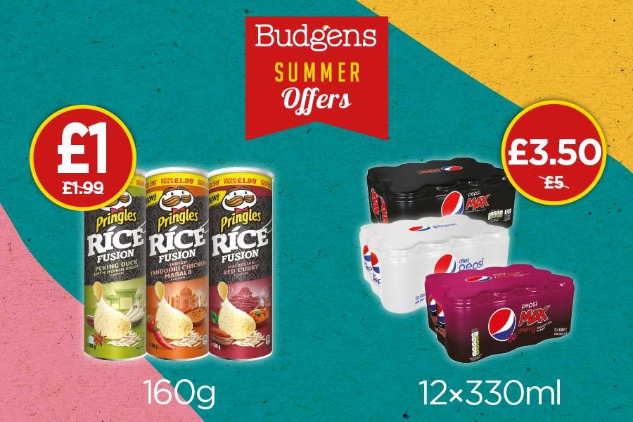 Summer Offers - Pepsi & Pringles