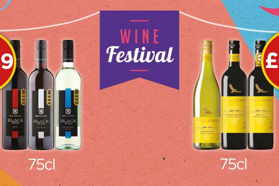 Wine Festival Offers