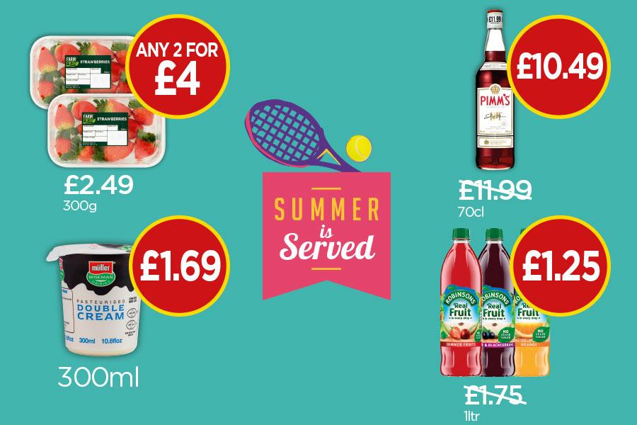 Summer is served offers