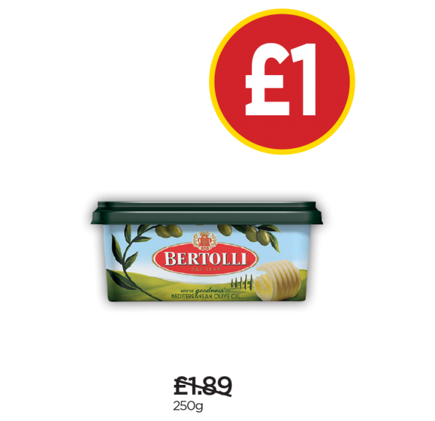 Bertolli - Was £1.89, Now £1 at Budgens