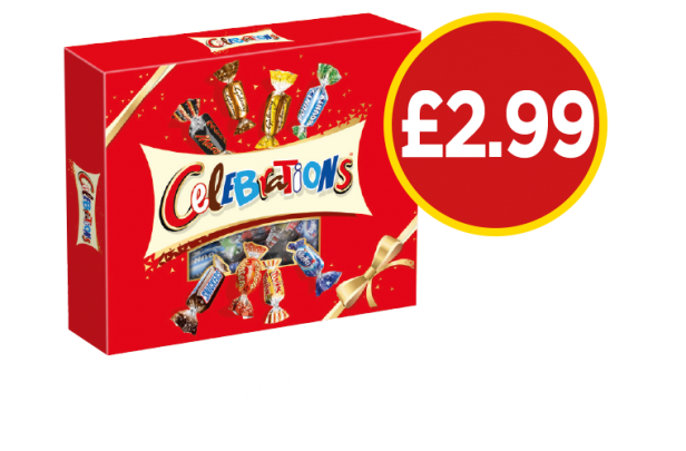 Celebrations Gift Pack - Now £2.99 at Budgens