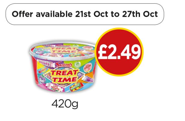 Swizzels Treat Time Tub - £2.49 at Budgens