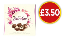 Nestle Dairy Box The Classic Collection - Now £3.50 at Budgens