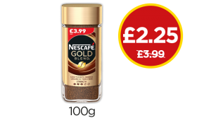 Nescafe Gold Blend - Was £3.99, Now £2.25 at Budgens