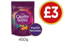 Quality Street Pouch - £3 at Budgens