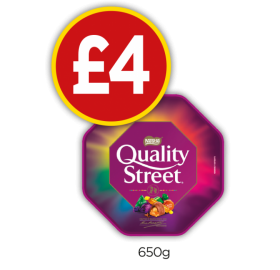 Quality Street Tub - Now £4 at Budgens
