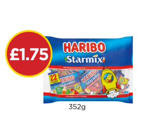 Haribo Starmix - Now £1.75 at Budgens