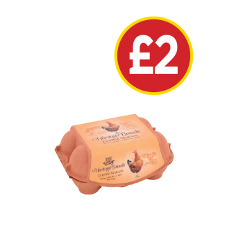 Heritage Breeds Copper Marans Eggs - Was £2.49, Now £2 at Budgens