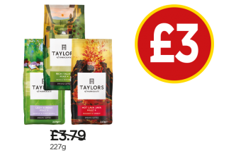 Taylors of Harrogate Lazy Sunday Ground Coffee, Rich Italian, Hot Lava Java - Was £3.79, Now £3 at Budgens