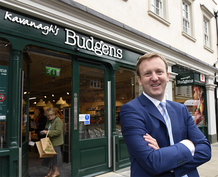 New Budgens store front