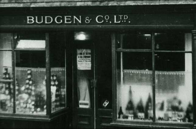 Old Budgens Store front