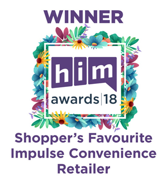 him awards 2018 Winner - Shoppers Favourite Impulse Convenience Retailer